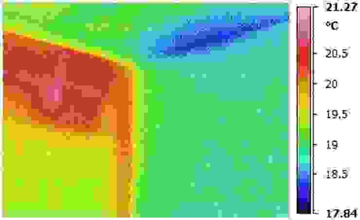 Pareti mal isolate di Termografia Monza - Infostudio sas