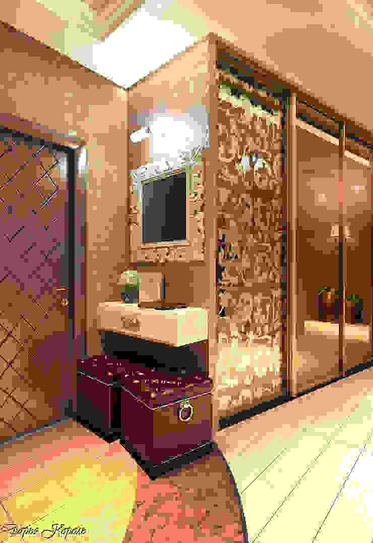 Гостиная Коридор, прихожая и лестница в эклектичном стиле от Your royal design Эклектичный