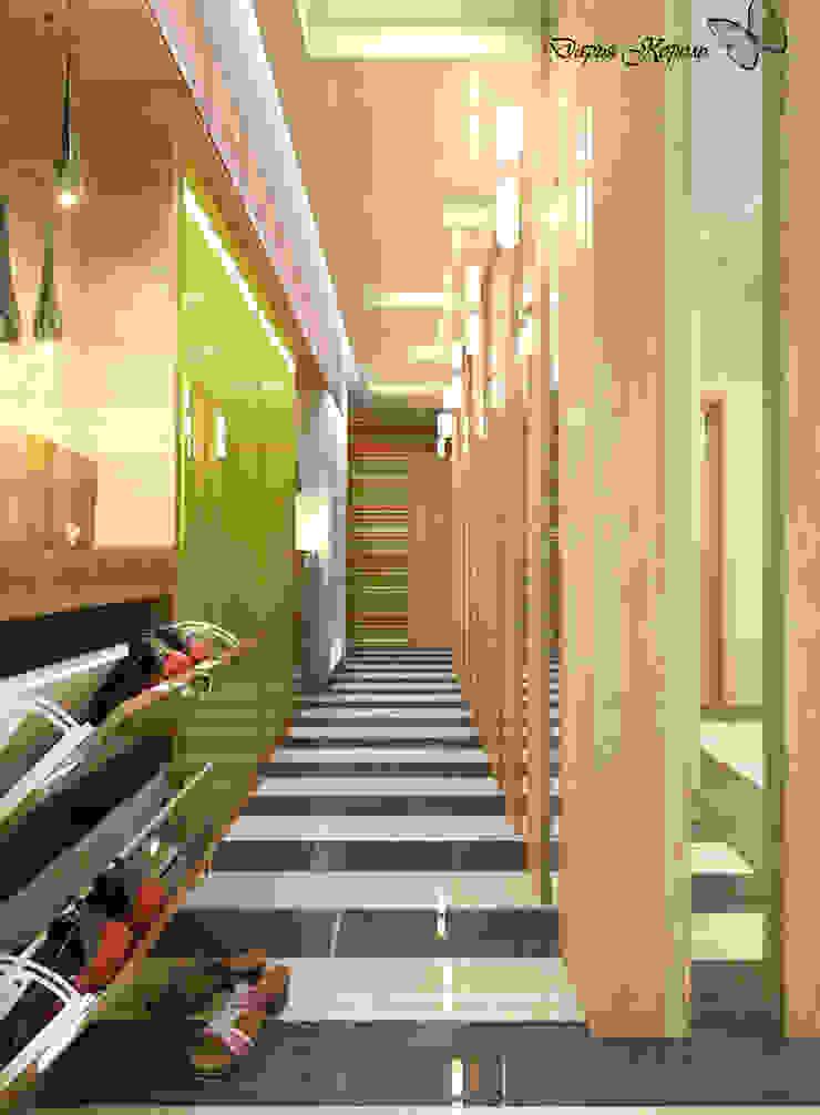 hall Коридор, прихожая и лестница в стиле минимализм от Your royal design Минимализм