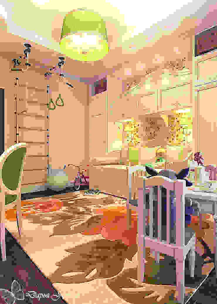 children's room for girls Детская комнатa в стиле кантри от Your royal design Кантри