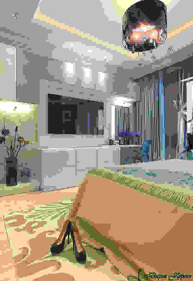 Phòng ngủ phong cách chiết trung bởi Your royal design Chiết trung