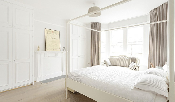 Bedroom by Stagg Architects,