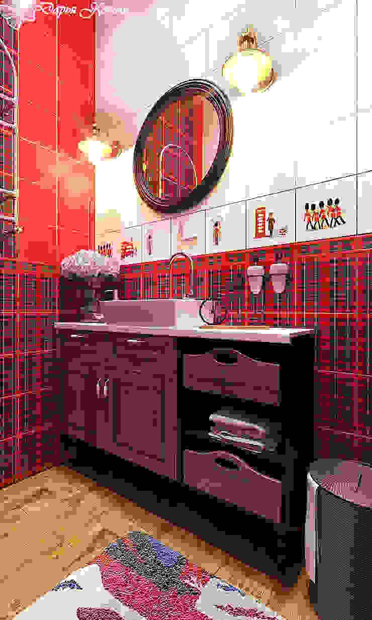 Guest WC Ванная комната в стиле кантри от Your royal design Кантри