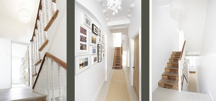 Huddleston Road Classic style corridor, hallway and stairs by Stagg Architects Classic