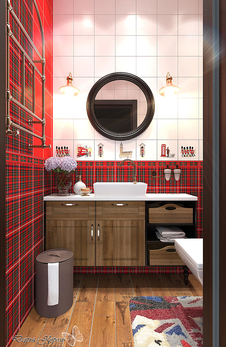 guest WC Country style bathroom by Your royal design Country