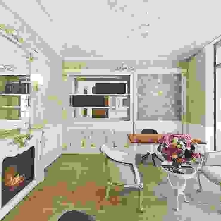 Klasik villa projesi homify Klasik Çalışma Odası