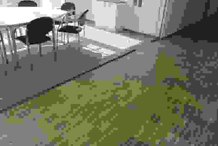 Industrieparkett Eiche versiegelt / Textilbelag Klaus Petrich Fussbodentechnik GmbH Moderne Bürogebäude