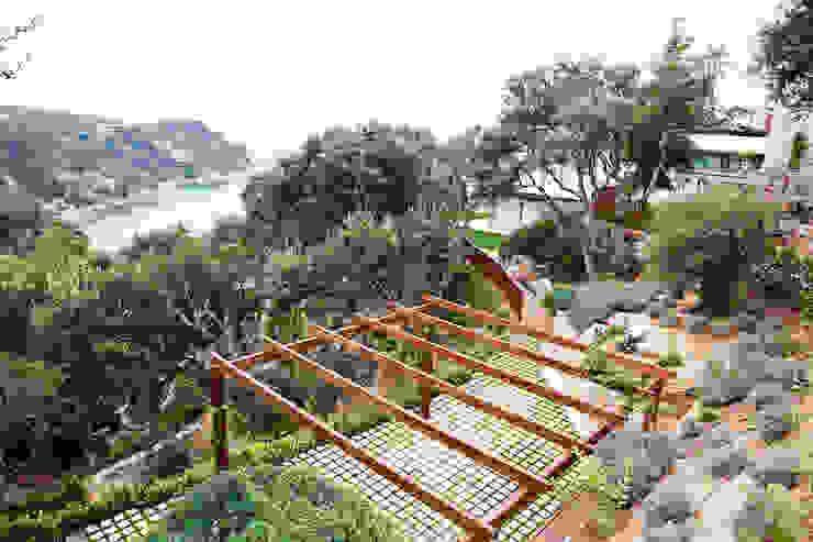 Jardín Costa Brava 1 Jardines de estilo mediterráneo de JARDÍ PEDRA I ARIDS S.L. Mediterráneo