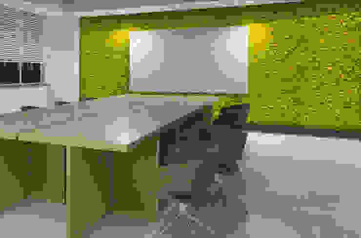 Pareti verticali di lichene stabilizzato Pareti & Pavimenti in stile moderno di Immagine Verde Moderno