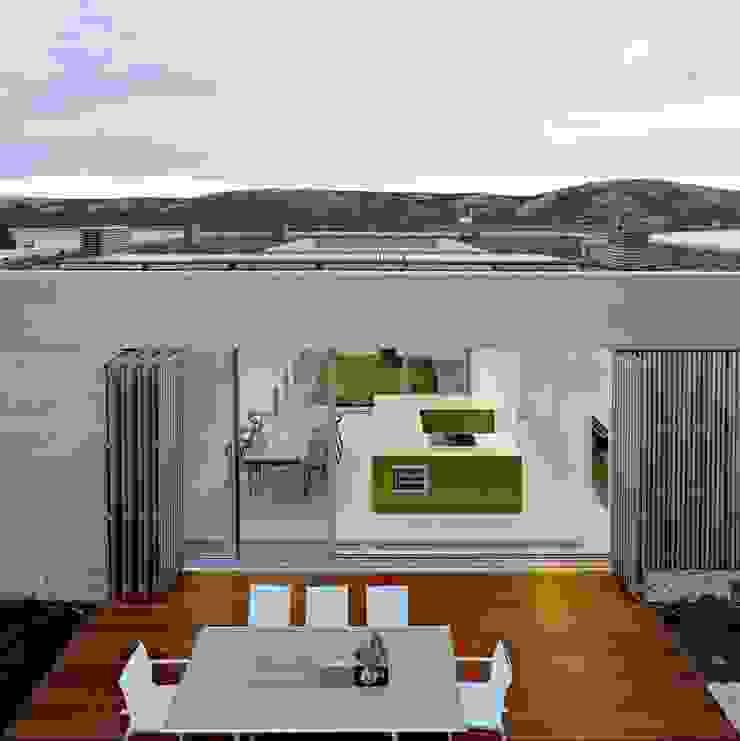 KELLER minimal windows® – filigrane Festfenster und Schiebetüren Mediterrane Fenster & Türen von KELLER AG Mediterran