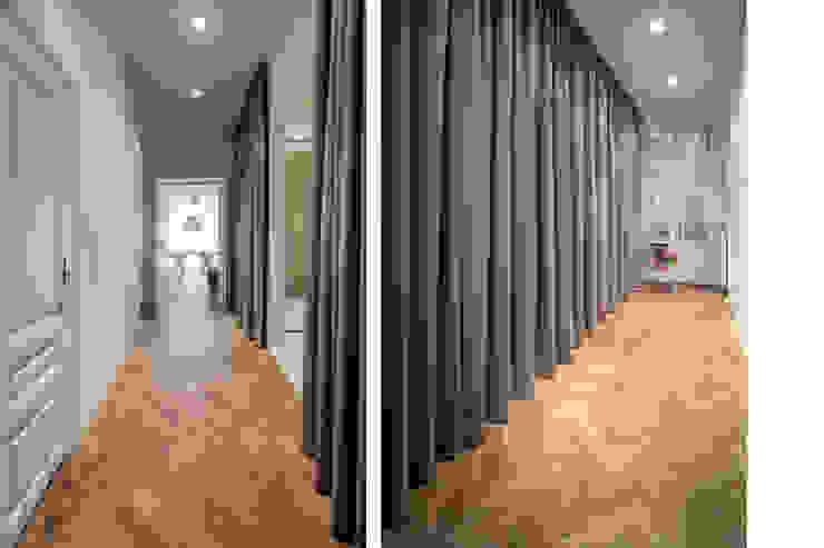 Appartment H&M Moderner Flur, Diele & Treppenhaus von destilat Design Studio GmbH Modern