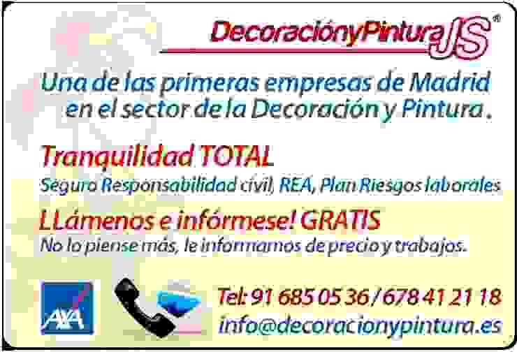 Decoración y Pintura JS de Decoración y Pintura Profesional JS Moderno