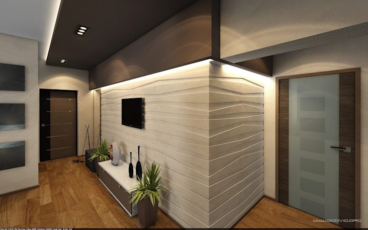 Sweet home Коридор, прихожая и лестница в стиле минимализм от VIO design Минимализм