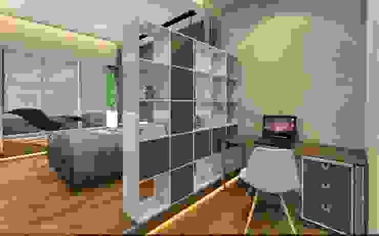 Sweet home Спальня в стиле минимализм от VIO design Минимализм