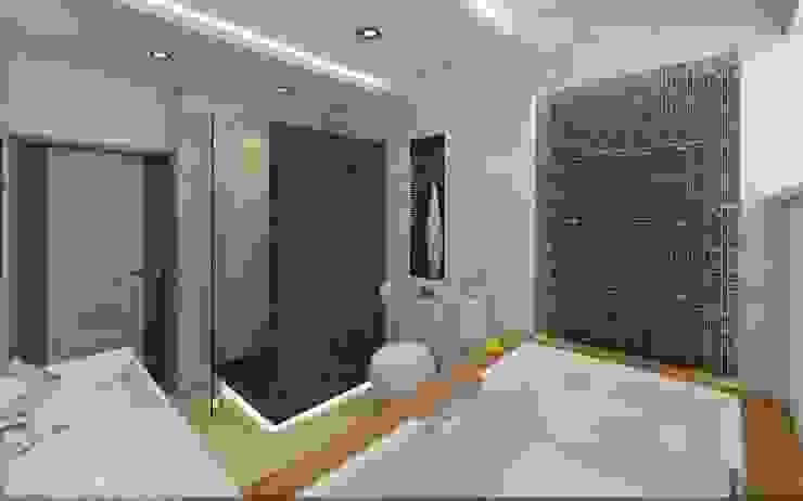 Sweet home Ванная комната в стиле минимализм от VIO design Минимализм