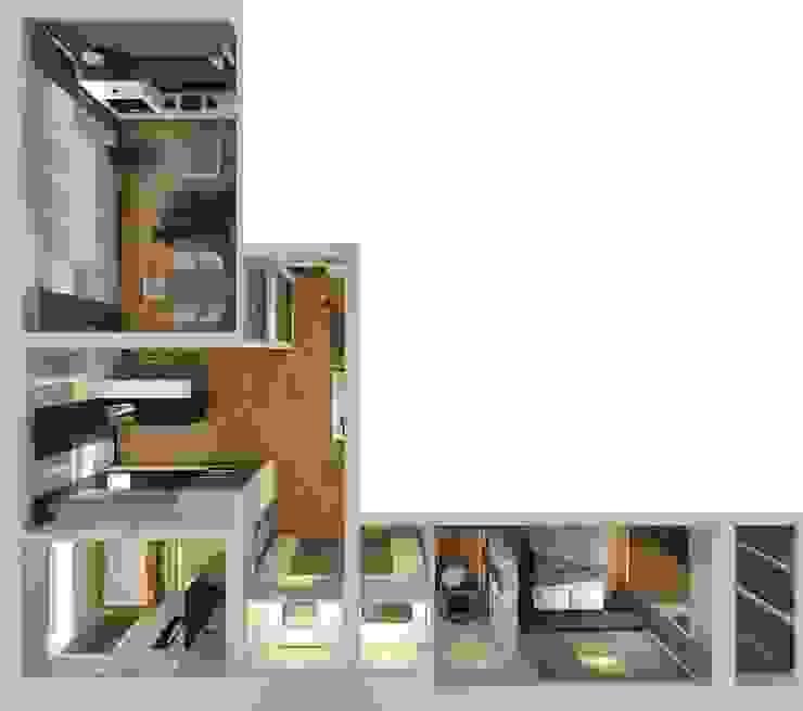 Sweet home Стены и пол в стиле минимализм от VIO design Минимализм