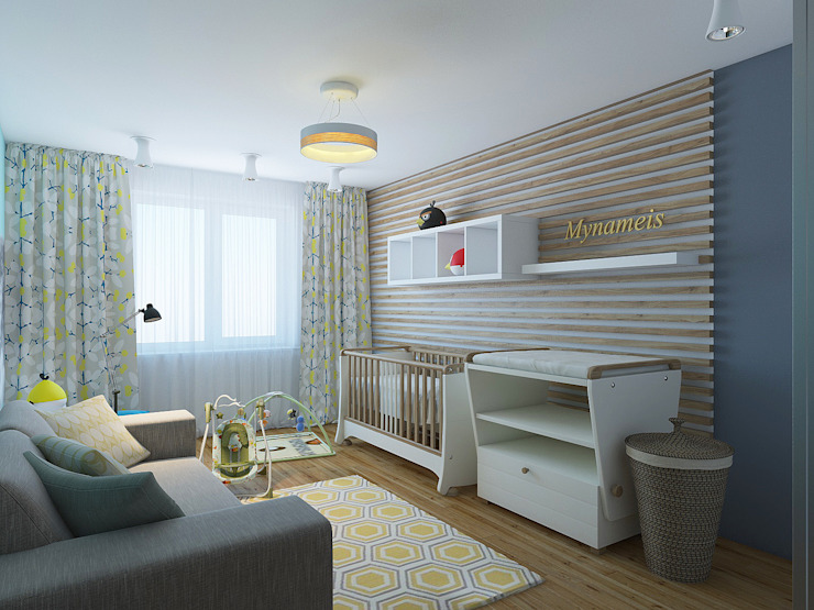Nursery/kid's room by olegkurgaev design, Scandinavian