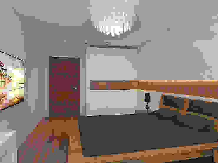 Квартира в экостиле в Санкт-Петербурге Спальня в скандинавском стиле от olegkurgaev design Скандинавский