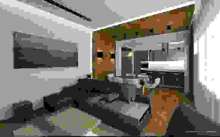 Sweet home Гостиная в стиле минимализм от VIO design Минимализм