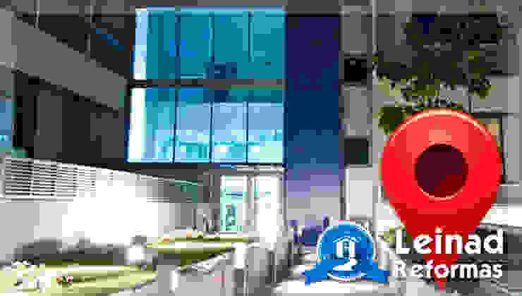 Reformas Leinad - Empresa de reformas en Madrid Oficinas y tiendas de estilo moderno de Reformas Leinad Moderno