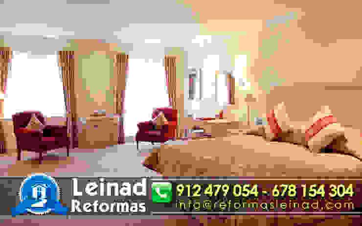 Reformas Leinad - Empresa de reformas en Madrid Dormitorios de estilo moderno de Reformas Leinad Moderno