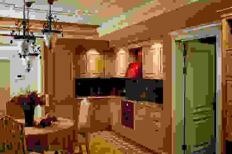 Жилая классика Кухня в классическом стиле от VVDesign Классический