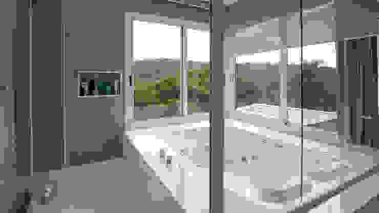 CASA ESTÂNCIAS DO HIBISCO Banheiros modernos por Mutabile Arquitetura Moderno
