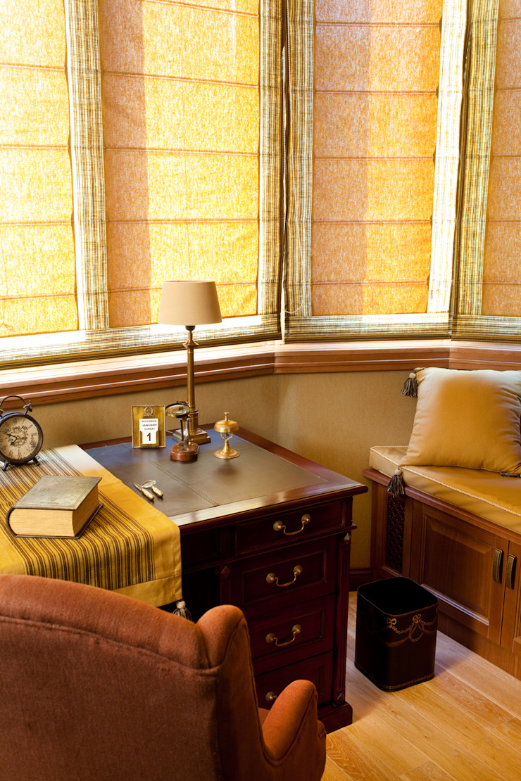 Жилая классика Рабочий кабинет в классическом стиле от VVDesign Классический