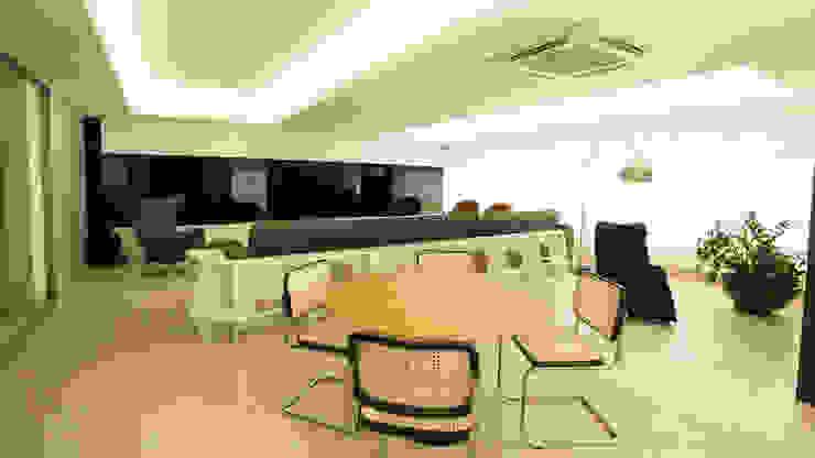 APARTAMENTO SAVASSI Salas de jantar modernas por Mutabile Arquitetura Moderno