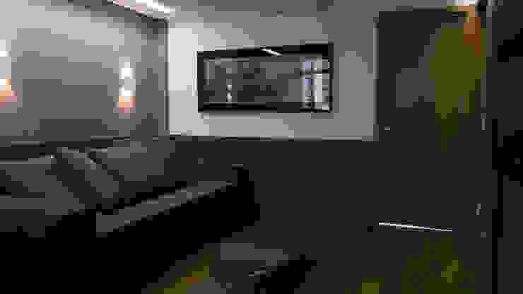 APARTAMENTO SAVASSI Salas de estar modernas por Mutabile Arquitetura Moderno