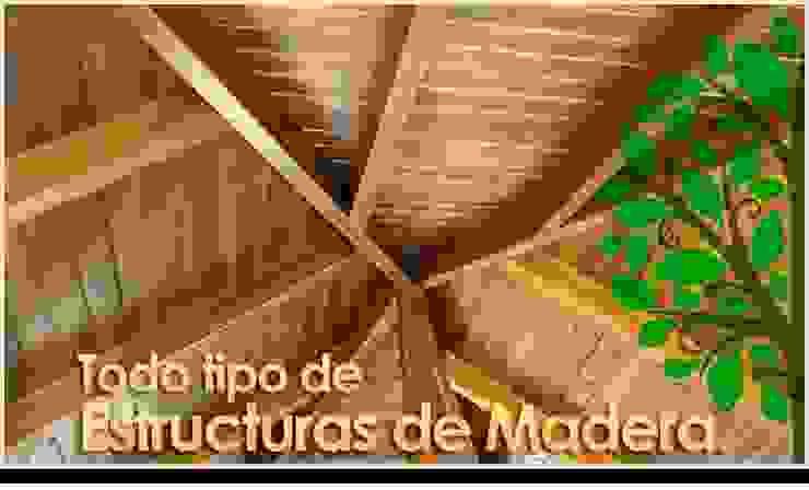 Todo en Madera - Carpinteros Valencia Casas de estilo rural de Carpinteros Valencia - Todo en Madera Rural