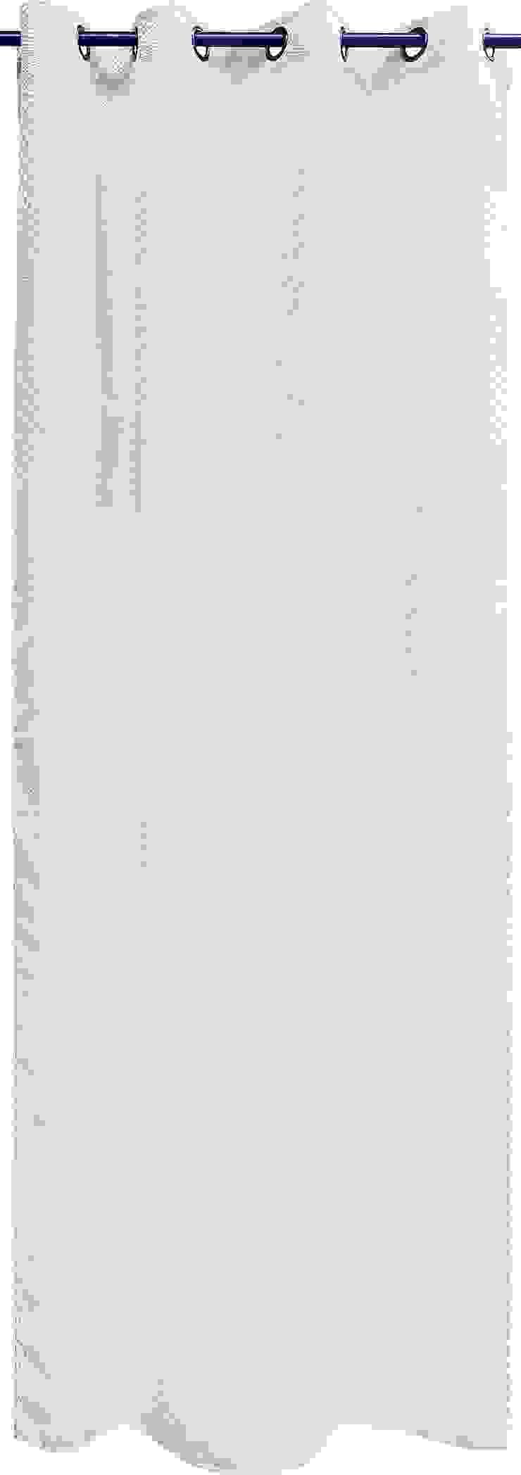 """Rideau """"Seventies"""" Blanc par La Maison d'Ursule"""