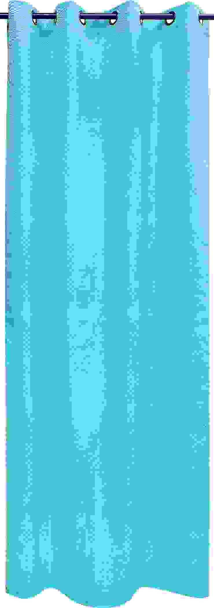 """Rideau """"Seventies"""" - turquoise par La Maison d'Ursule"""