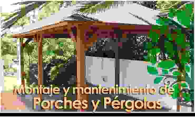 Todo en Madera - Carpinteros Valencia Jardines de estilo rural de Carpinteros Valencia - Todo en Madera Rural