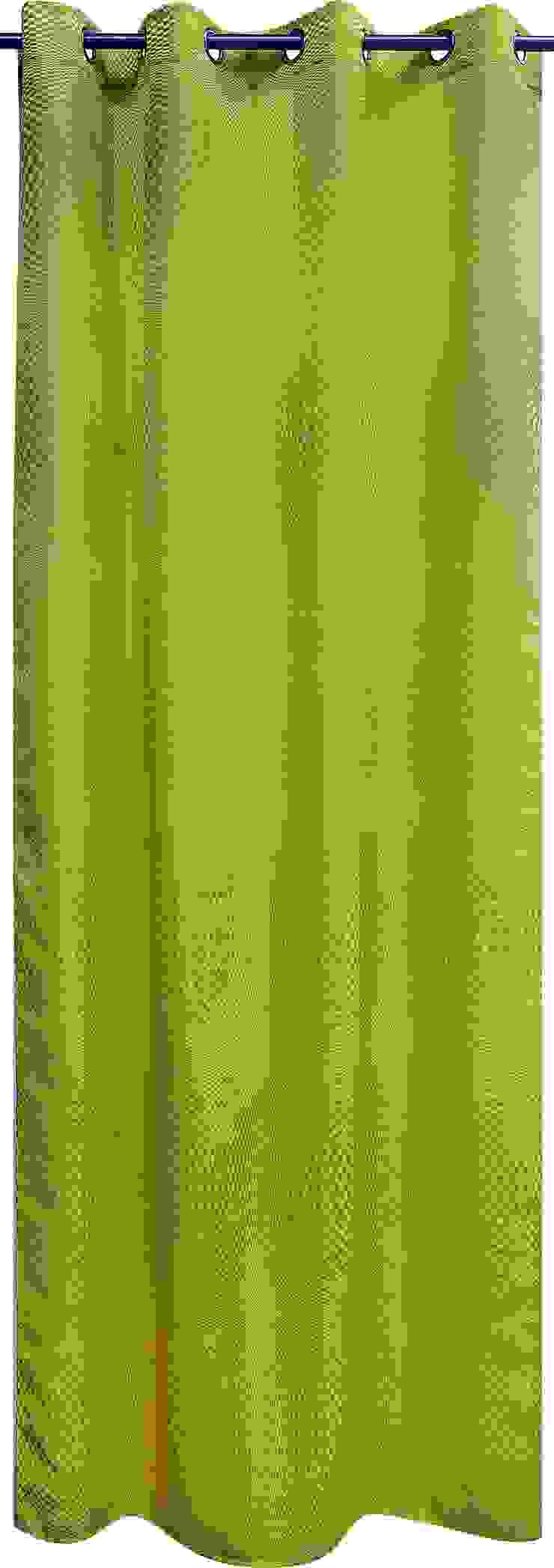 """Rideau """"Seventies"""" vert par La Maison d'Ursule"""