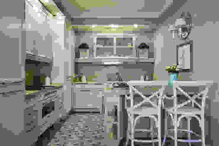 Вне времени Кухни в эклектичном стиле от VVDesign Эклектичный