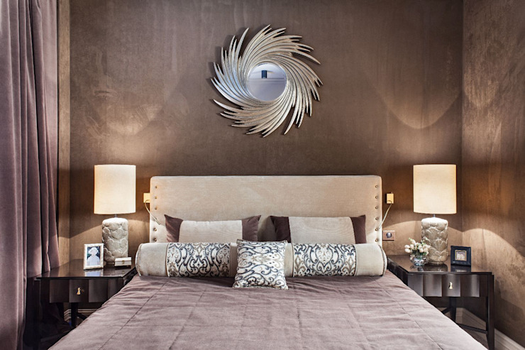 Eclectic style bedroom by VVDesign Eclectic