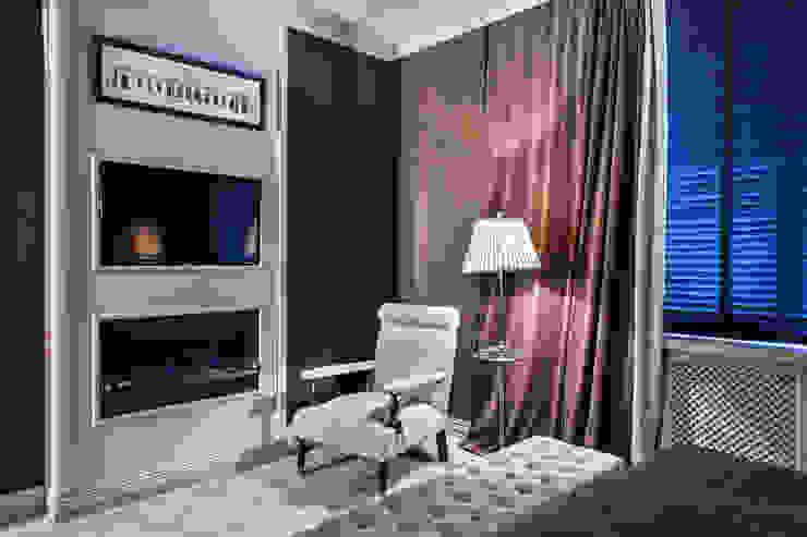 Вне времени Спальня в эклектичном стиле от VVDesign Эклектичный