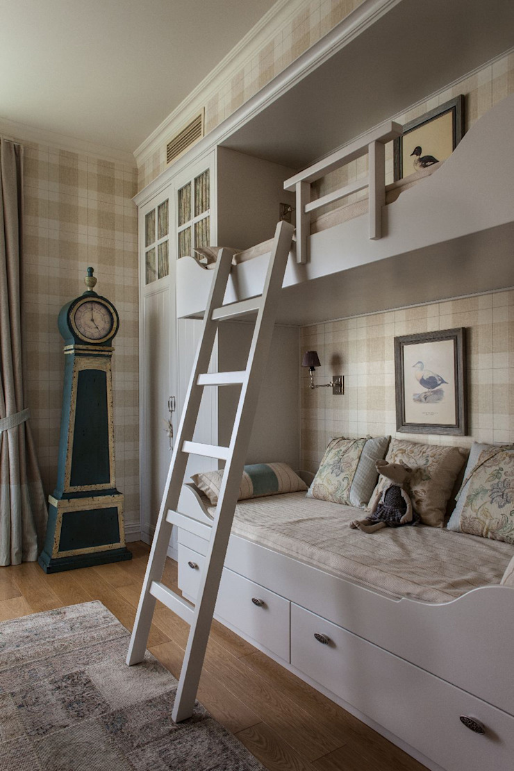 Вне времени Детские комната в эклектичном стиле от VVDesign Эклектичный