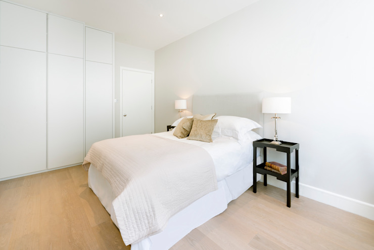 Roland Gardens Minimalist bedroom by BTL Property LTD Minimalist