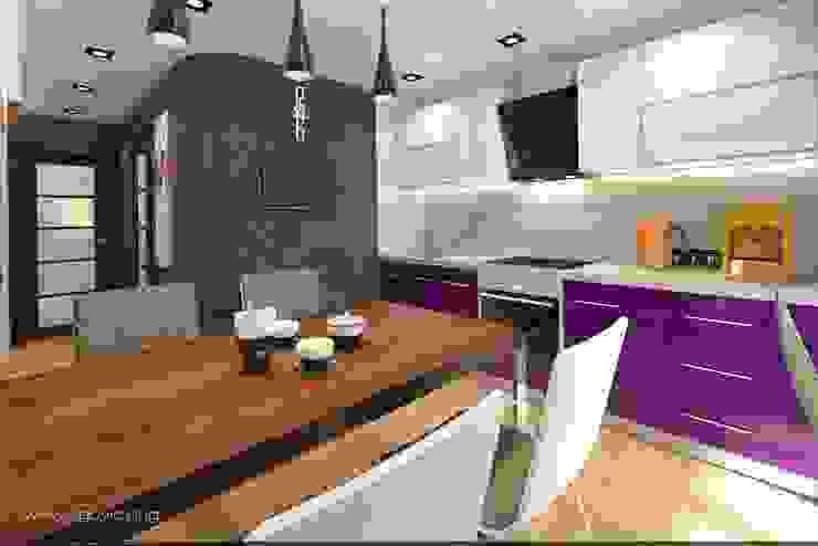 С Новым годом ! Кухня в стиле минимализм от VIO design Минимализм