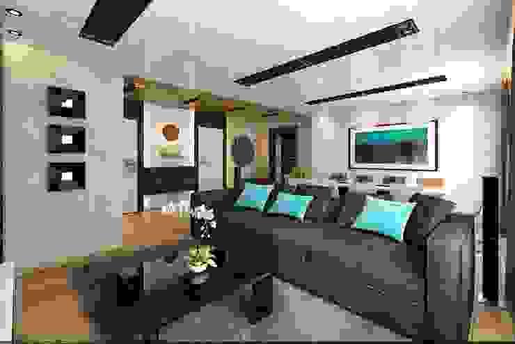 Уютное гнездышко Гостиная в стиле минимализм от VIO design Минимализм