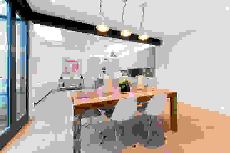 Roland Gardens BTL Property LTD Minimalist dining room