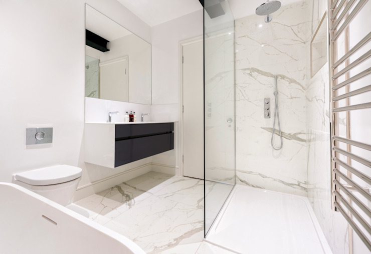 Roland Gardens Modern bathroom by BTL Property LTD Modern