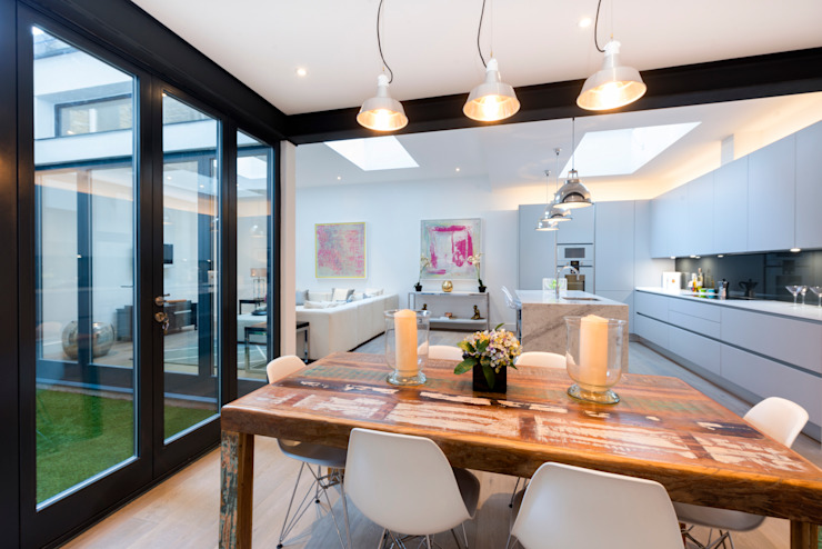 Roland Gardens BTL Property LTD Modern dining room