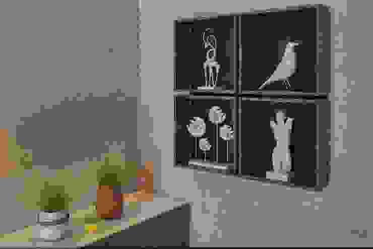 Уютное гнездышко Спальня в стиле минимализм от VIO design Минимализм