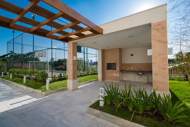 Fotografia de Arquitetura | Exteriores Varandas, alpendres e terraços modernos por Christiana Marques Fotografia Moderno