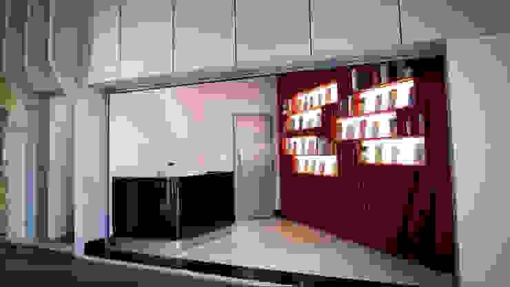 DISTRIBUIDORA ACAICA Salas de estar modernas por Mutabile Arquitetura Moderno
