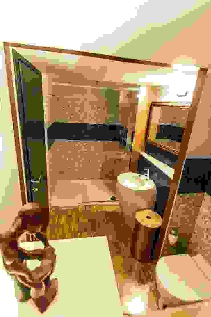 Il bagno del piano terra UAU un'architettura unica Bagno moderno