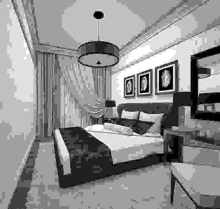 Выход из лабиринта. Спальня в эклектичном стиле от Частный дизайнер Оксана Пискарева Эклектичный